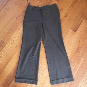 Lauren Ralph Lauren brown 10p dress pants 96% wool